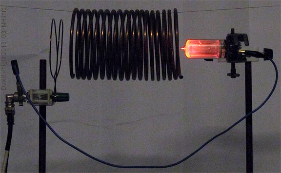 Count tube bulk gas discharge